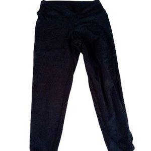 Girl's Black Leggins Fits Size 14